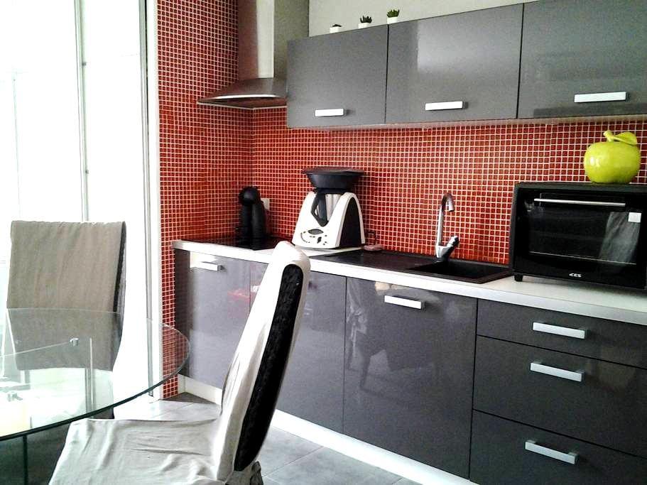 Chambre dans appartement avec balcon - La Roche-sur-Yon - Ortak mülk