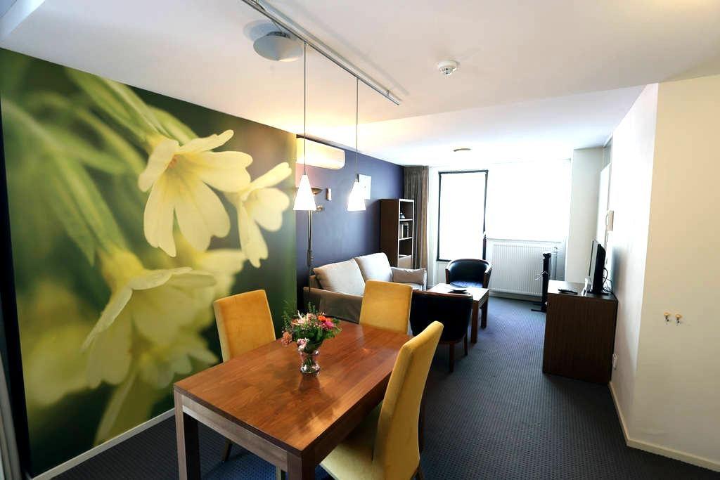 Appartement met apart slaapkamer kitchenette,airco - Oirschot - Leilighet