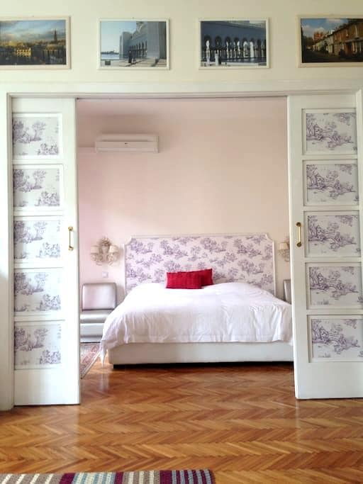 In the heart of city - whole flat. - Trieste - Apartamento