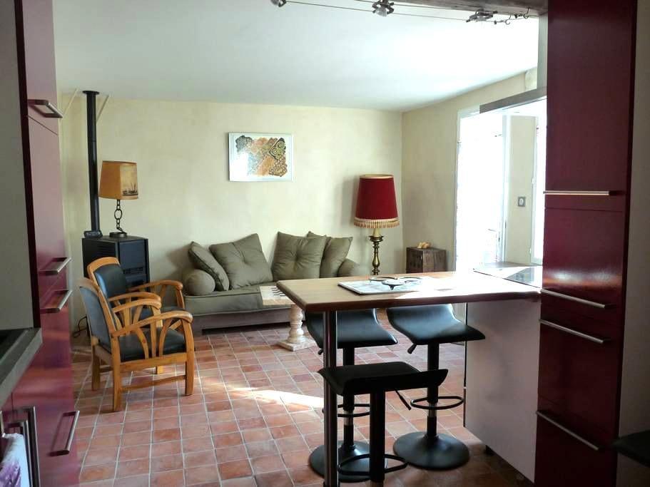 MAISON DE VILLAGE RESTAUREE - Rochefort-du-Gard - Hus