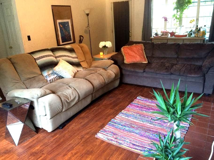 Comfy Couch in The Heart of Orlando - Orlando - Casa