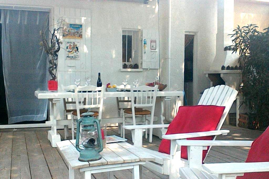 Maison avec jardin à deux pas de la plage - Gruissan - Casa