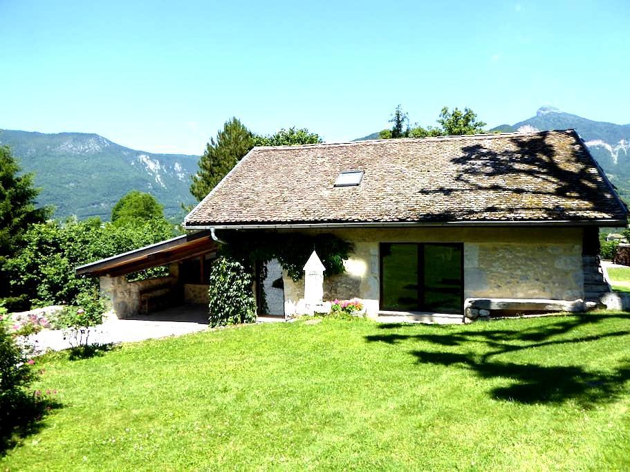 Grange de charme tout confort - Quaix-en-Chartreuse - Casa