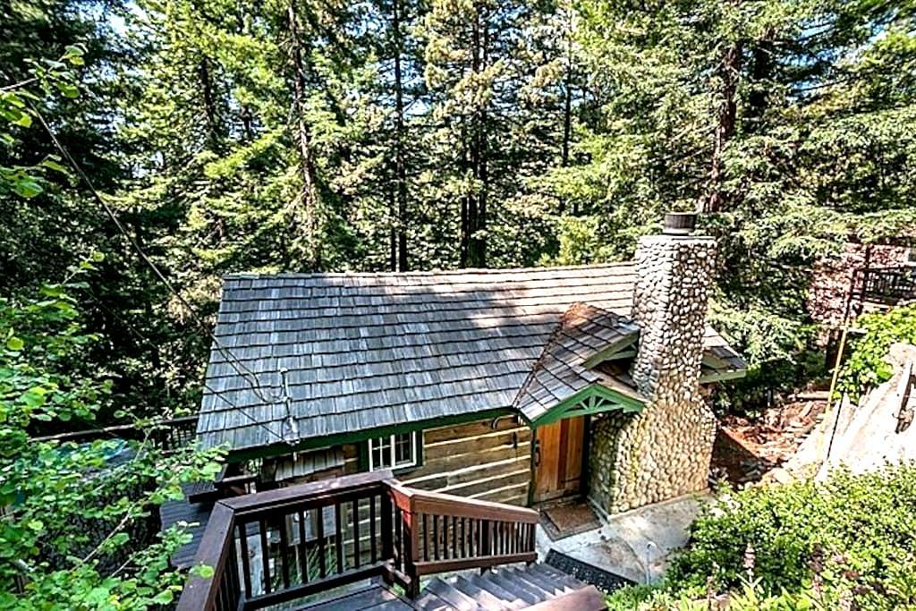 Majestic Redwood Cabin - Redwood City - Houten huisje
