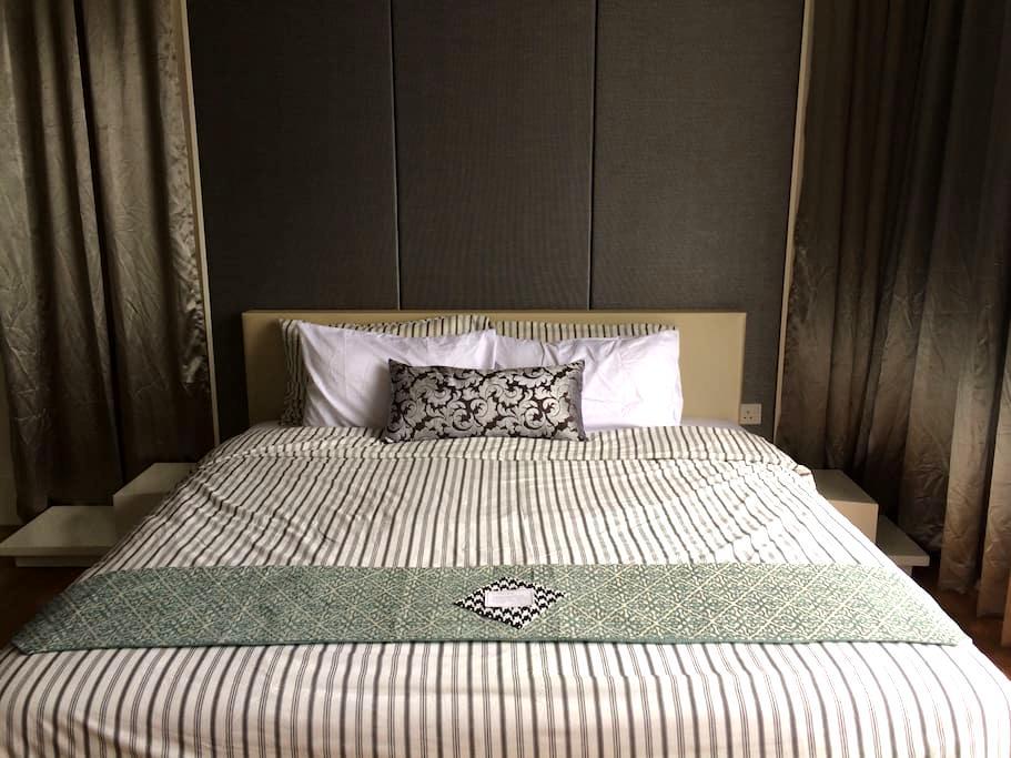 Sleek Contemporary Cosy Suite w Great Facilities - Petaling Jaya - Kondominium