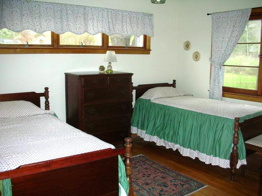 Great room in our comfortable home. - South Corning - Maison