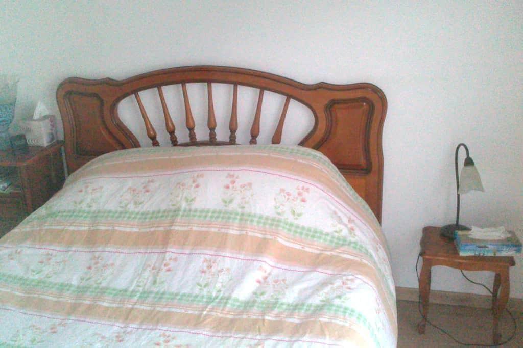 Chambre privée en campagne - Beaumont-Monteux - Дом