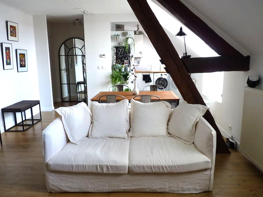 Appartement cosy au coeur du quartier historique - Auxerre - Apartament