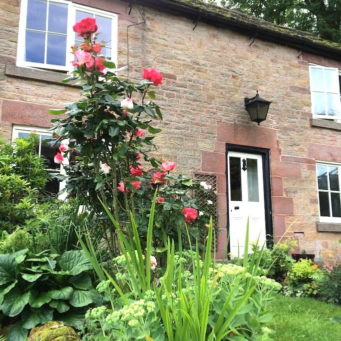 Ashmount cottage by the river Dane - Wincle - Kabin