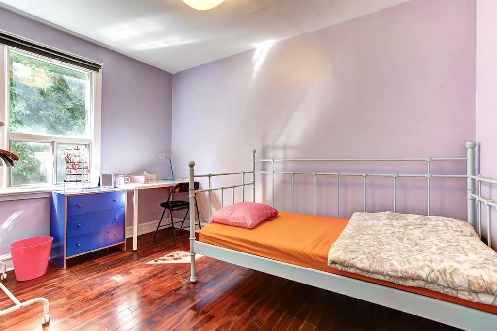 Romantic Downtown Toronto Single Room - Toronto - Casa