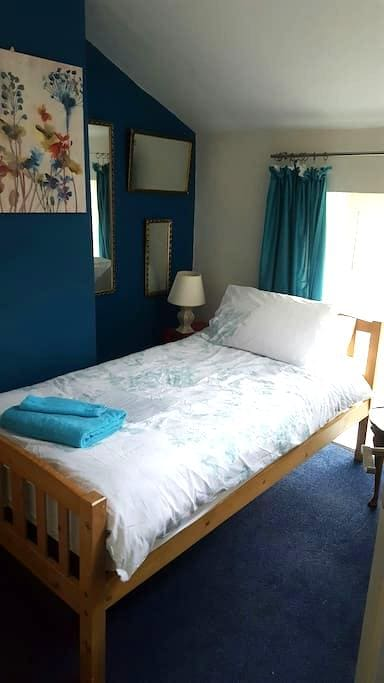 1 or 2 single beds in period home. - Yeovil - 단독주택
