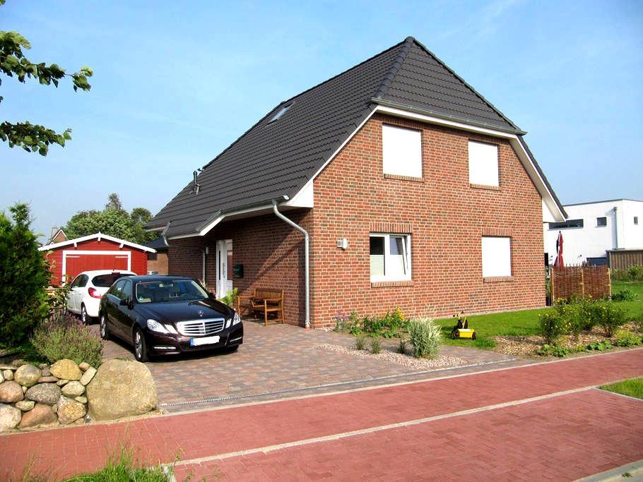 Familienfreundliches Ferienhaus - Meldorf - บ้าน