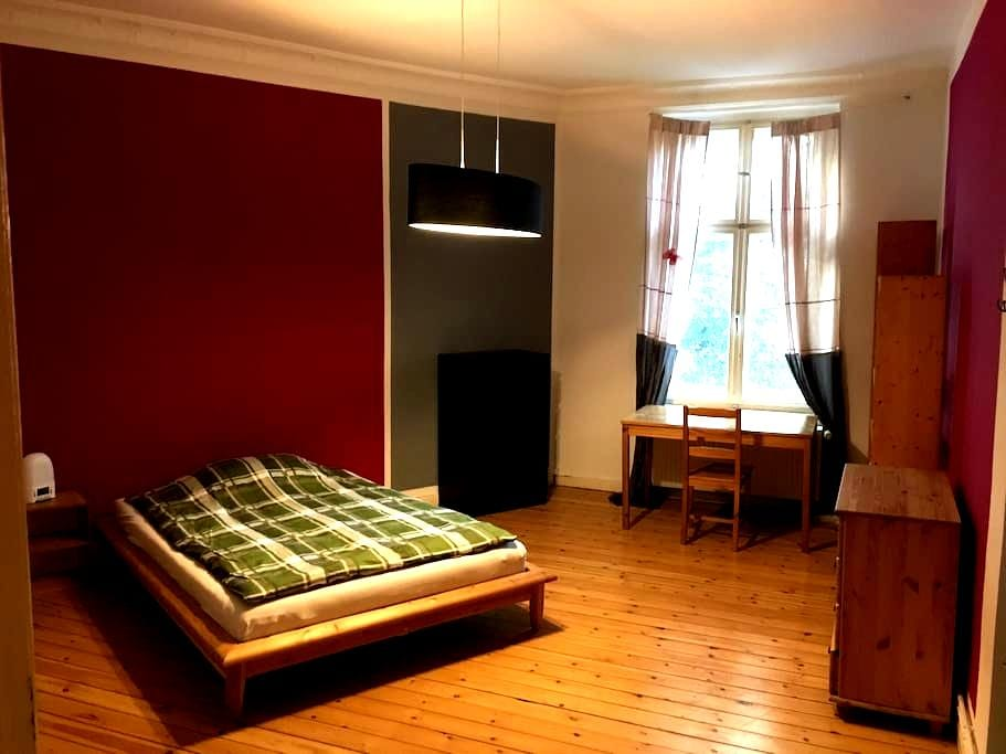 Lovely, spacious, quiet room in 19th. cent. apt. - Berlin - Apartament