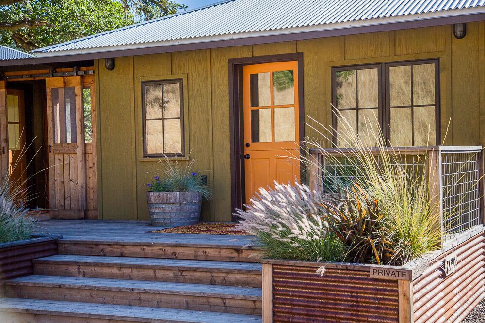 Creekside Cottage   Cabins For Rent In Boonville, California, United States