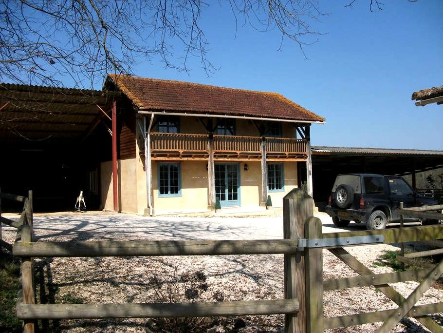 Renovated Barn in South West France - Manciet - Talo