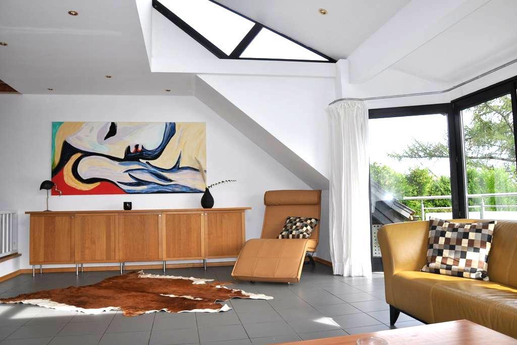 Schöner Wohnen mit offenem Kamin  - Witten - Apartment
