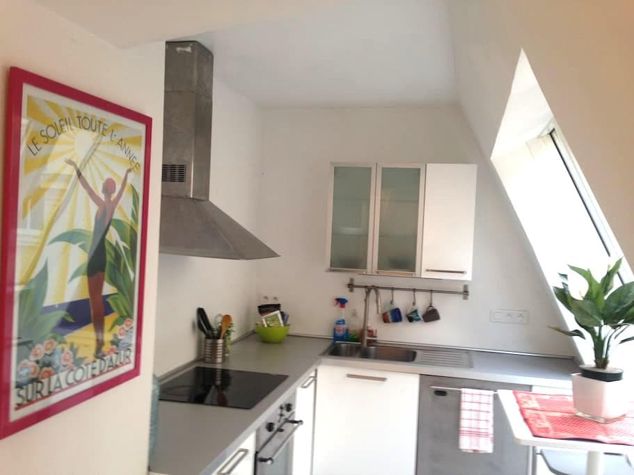 Room (4) w/kitchen, 3 min from Monaco - Beausoleil
