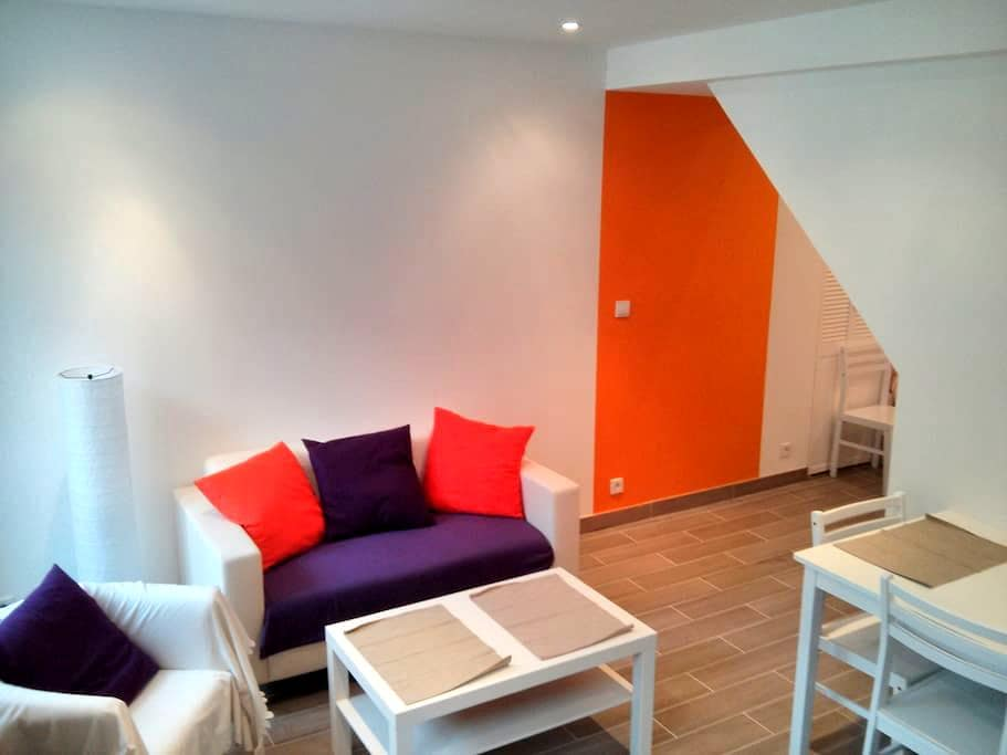 F2 Furnished flat historic district - Caen - Appartement