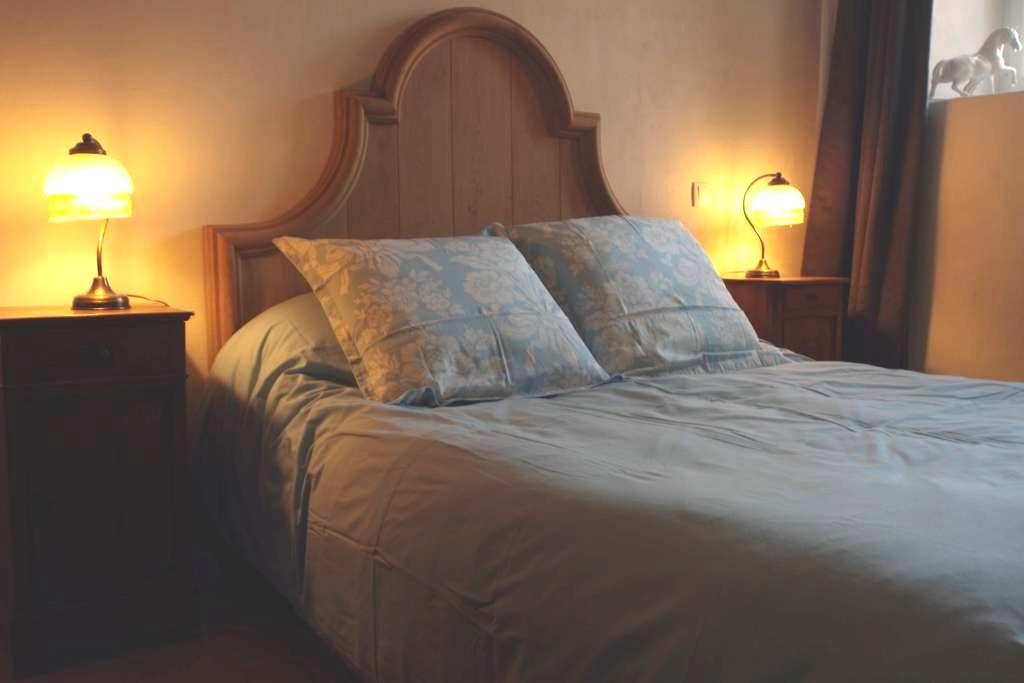 Maison du Tisserand - La chambre du Maître - Flavigny-sur-Ozerain - Apartemen berlayanan