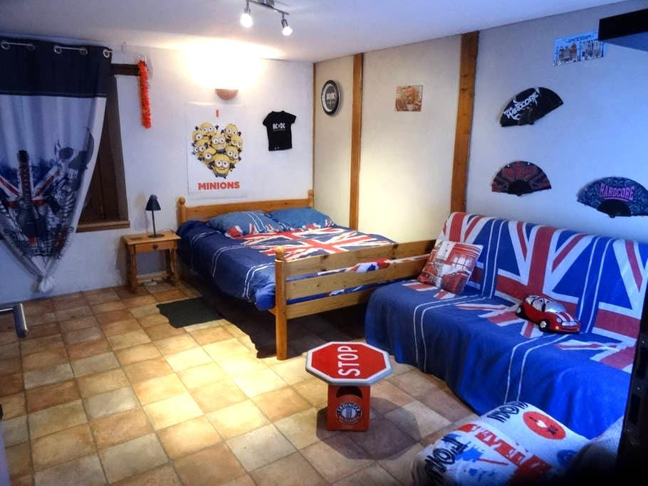 Chambre pour 2 à 4 personnes - Heidolsheim - House