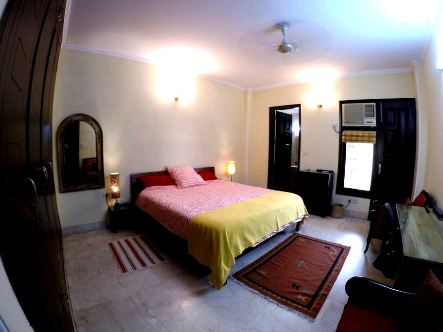 You will love our large double room - New Delhi