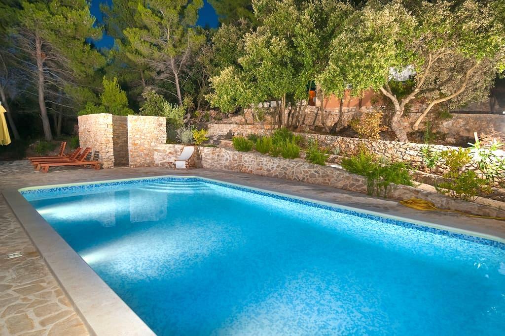 VILLA Goga 1, with swimming pool - Vela Luka