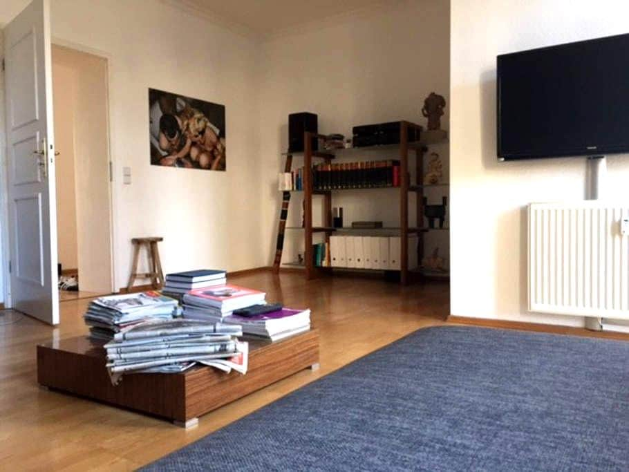 Perfectly central generous city apt - Berlin - Apartment
