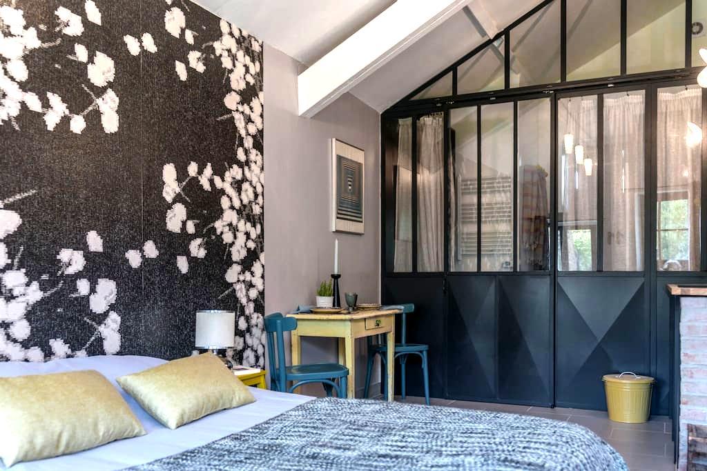 studio au rez de chaussée d'une maison du 18ème - Beaumont-du-Gâtinais - Guesthouse