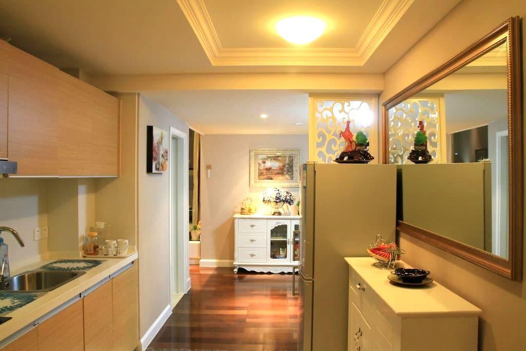 宁波新城五星奢华复式大公寓,她让您找到家的感觉 - Ningbo - Lägenhet
