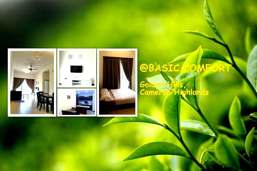 @BASIC COMFORT, Golden Hills - Brinchang - Apartamento
