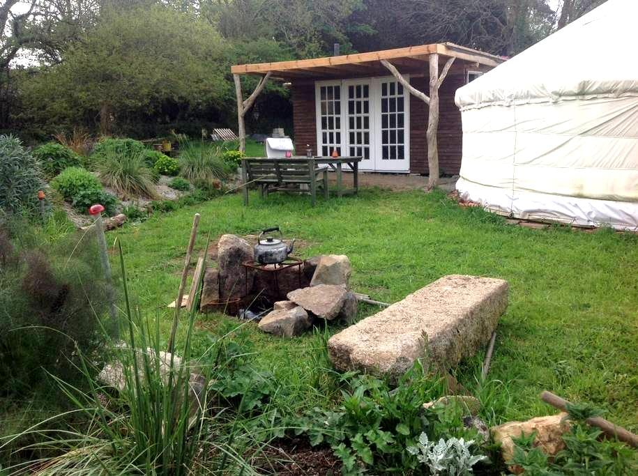 Wall Farm yurt hideaway - Gwinear - Yurt