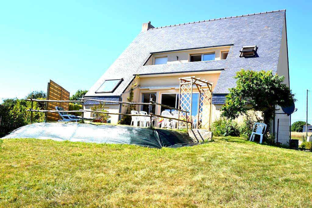 Maison Vue sur la plage de l'ABER - Crozon - Casa