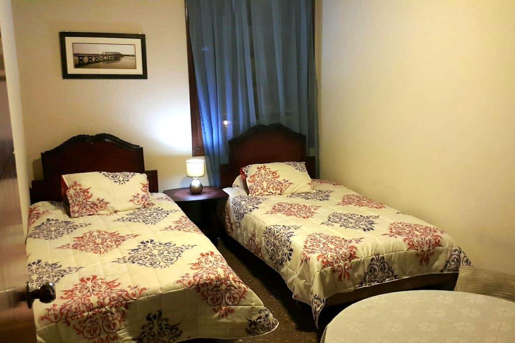 Habitación confortable con 2 camas - Guatemala - Apartamento