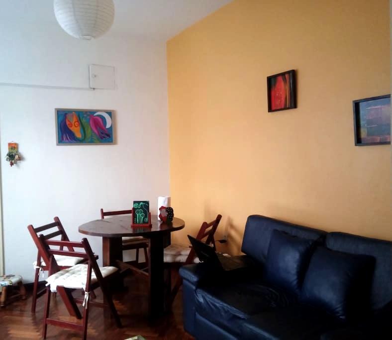 Lindo cuarto céntrico con desayuno - Montevideo - Lägenhet