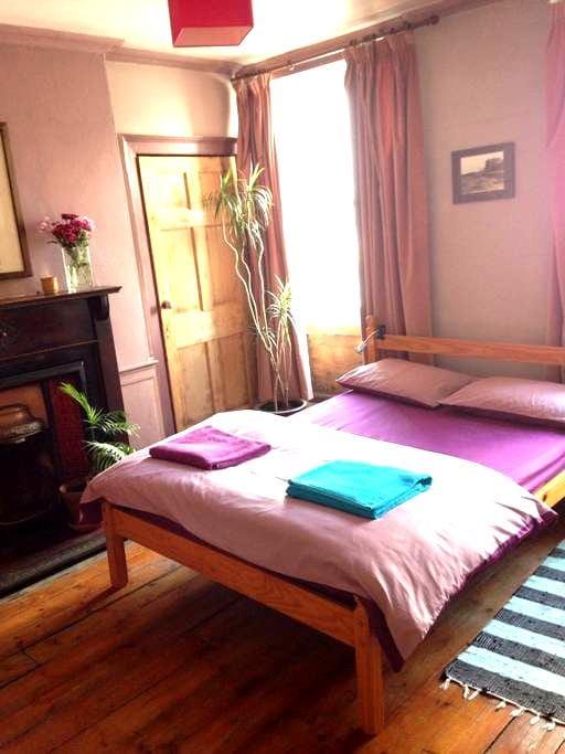large comfortable double room - Edinburgh - Bed & Breakfast