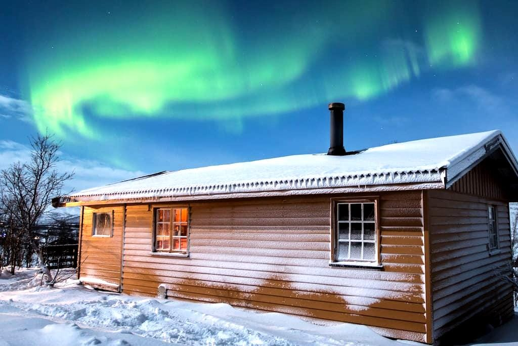 Cozy cabin, perfect for watching aurora borealis - Kvalsund