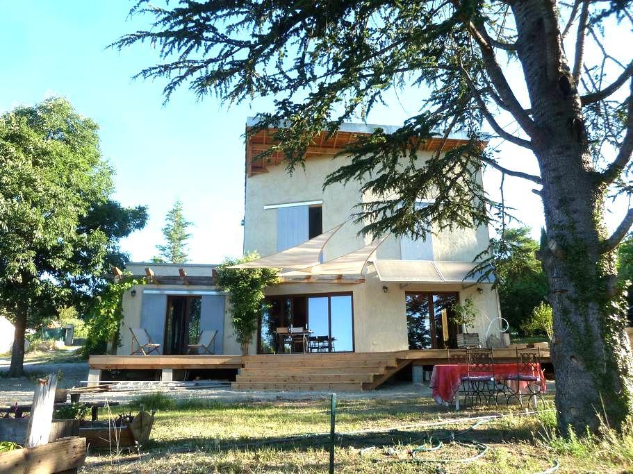 Maison bioclimatique, Forcalquier - Mane - Дом