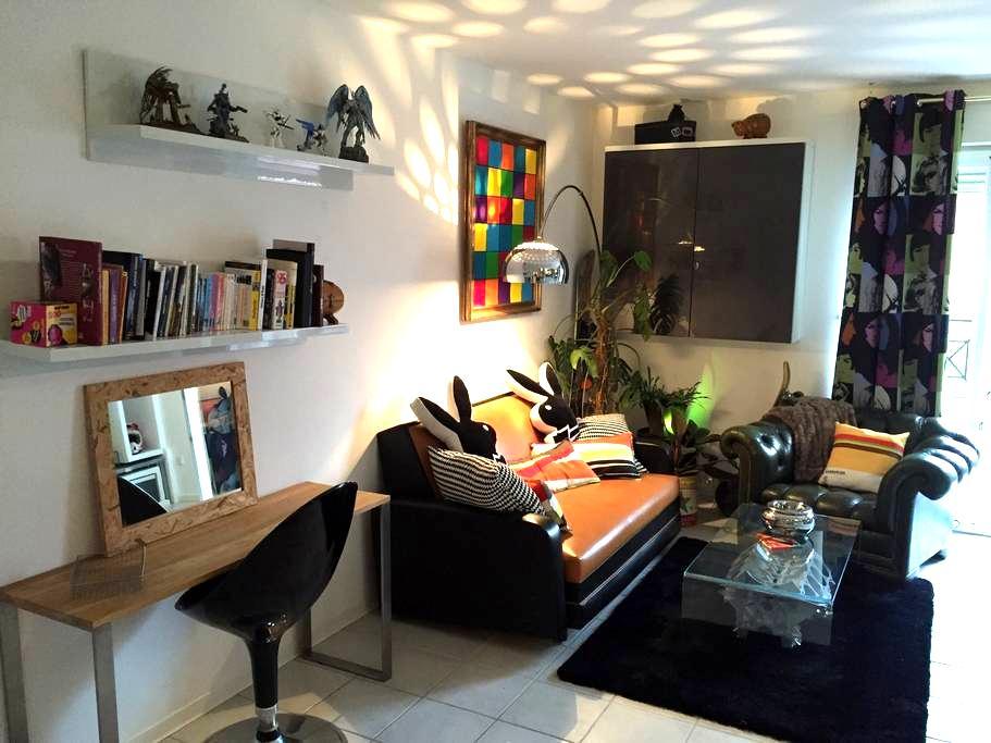 Un esprit loft & tendance - Cabestany - Appartement