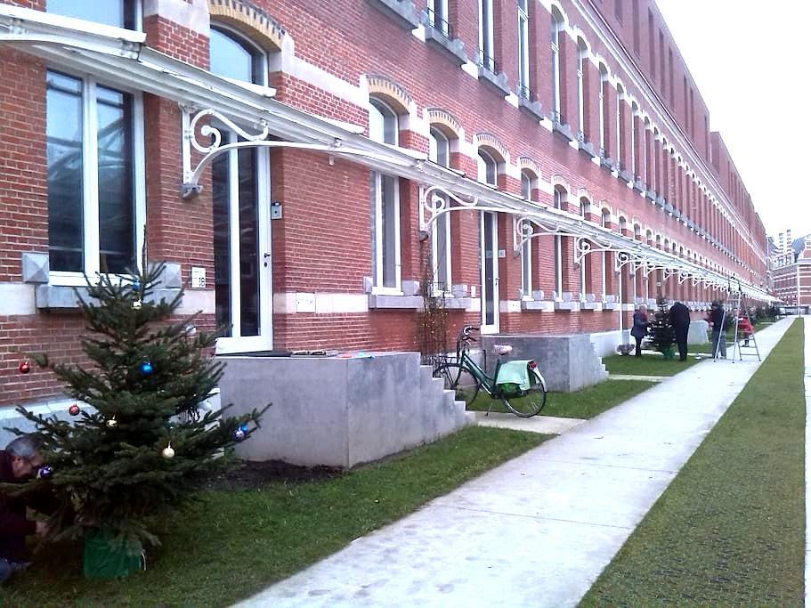 Quiet place in an historical quarter - Antwerpen - Loft