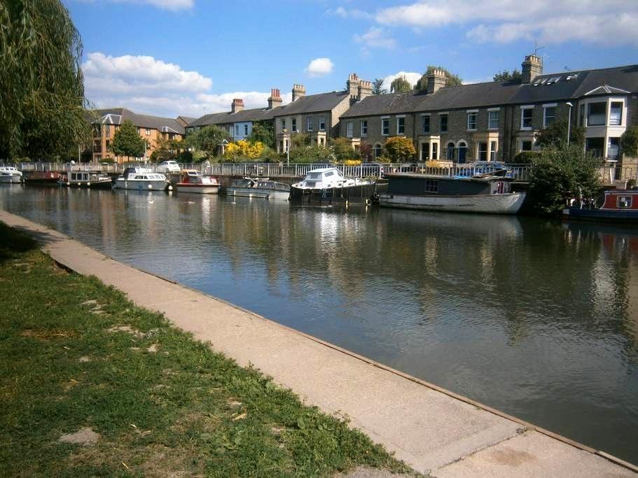 Victorian riverside home - Cambridge - Bed & Breakfast