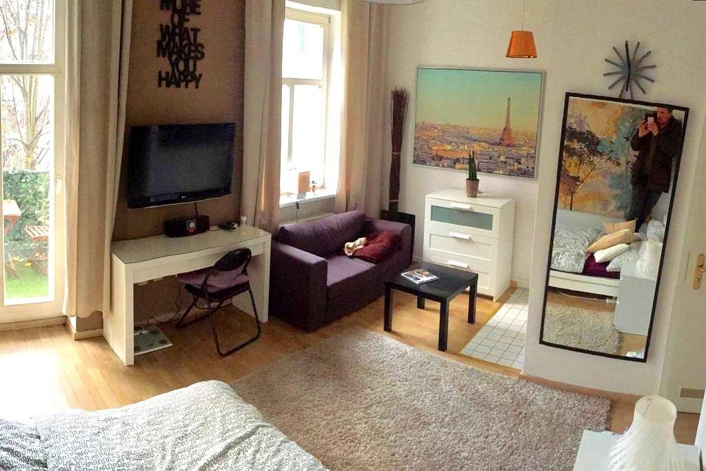 nettes 1- Zi.  Appartement, Balkon, Nähe Zentrum - Halle (Saale) - Huoneisto