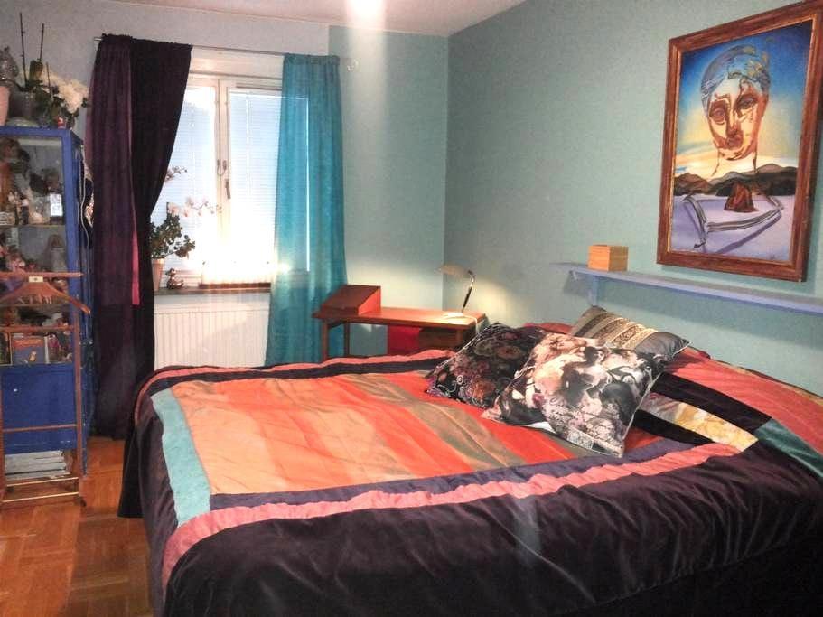 Dubbelrum med eget badrum - Stockholm - Bed & Breakfast