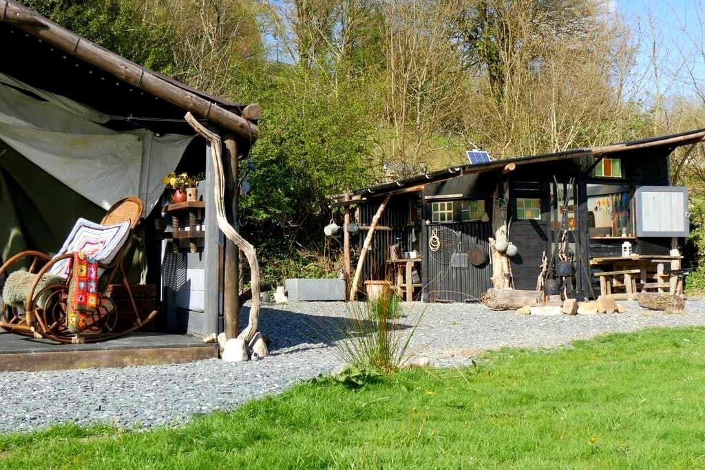 Ark- Cosy romantic secluded getaway Dartmoor Devon - Sampford Spiney - 其它