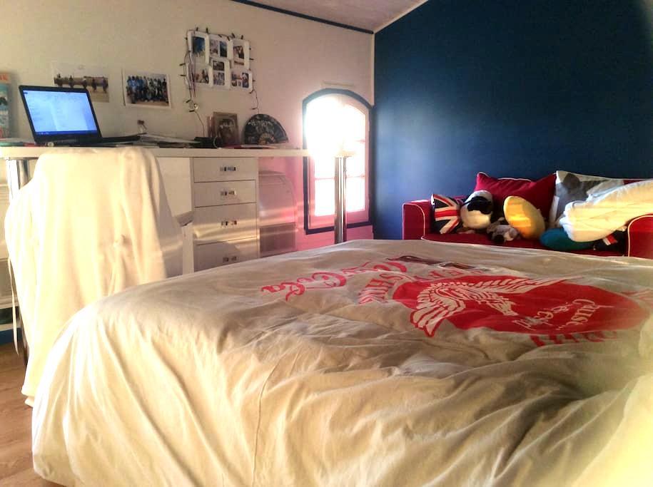 Maison spacieuse avec vue pyrenees - Montlaur