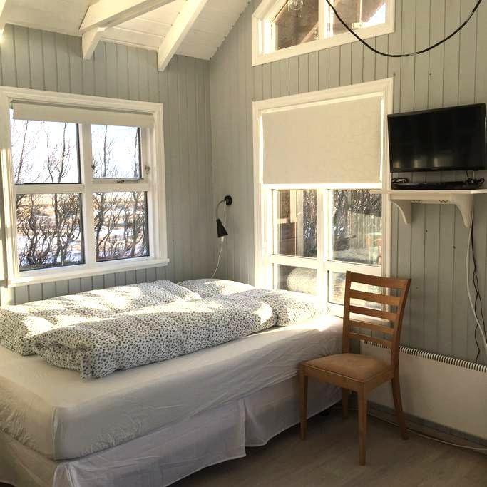 Cabin with a Glacier view - Hvolsvöllur - Bungalow