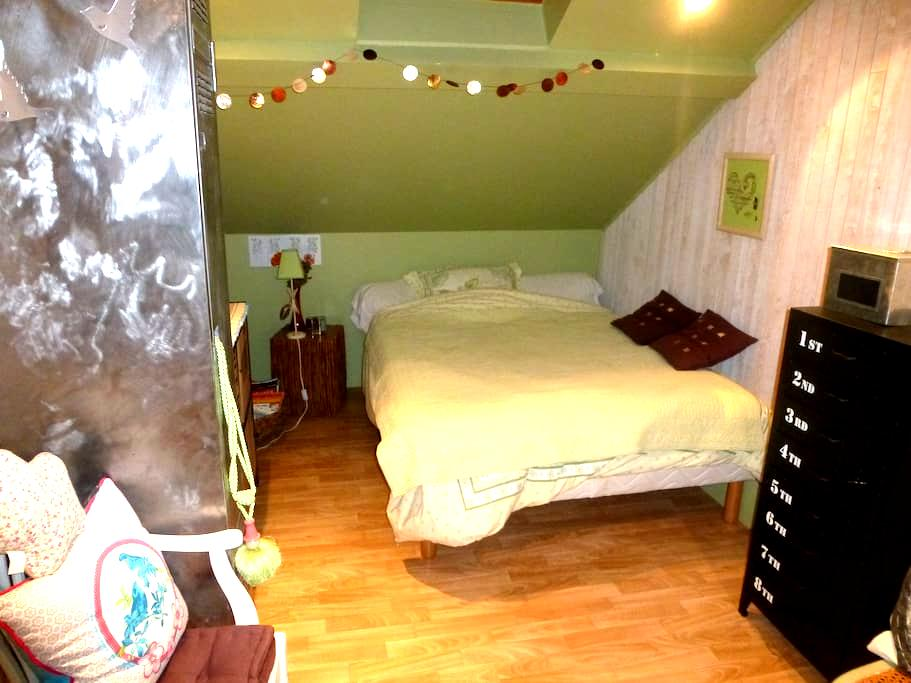 Chambre dans belle maison ancienne - Montbéliard - Haus