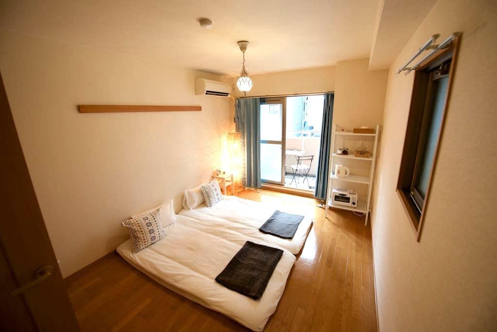 Cozy studio flat, 1min to subway - Naniwa Ward, Osaka