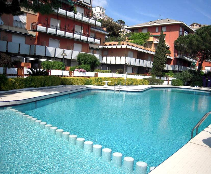 Affitto monolocale Pineta Arenzano - Arenzano - Διαμέρισμα