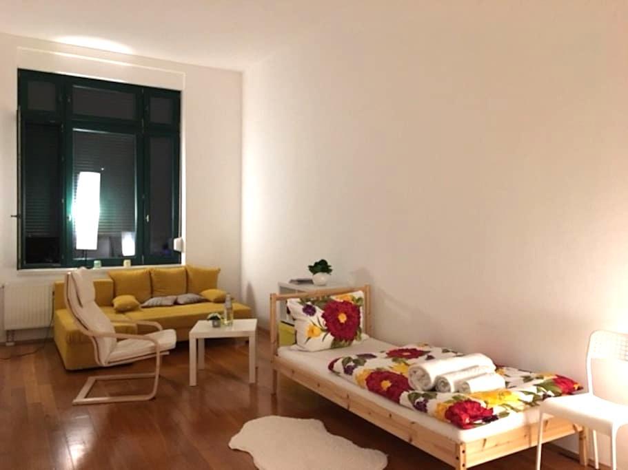 Zimmer für zwei in absoluter Toplage in Leipzig - Leipzig - Lägenhet