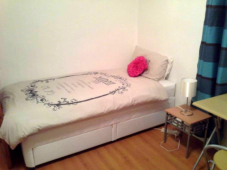Spacious room in quiet location - Glasgow - Flat